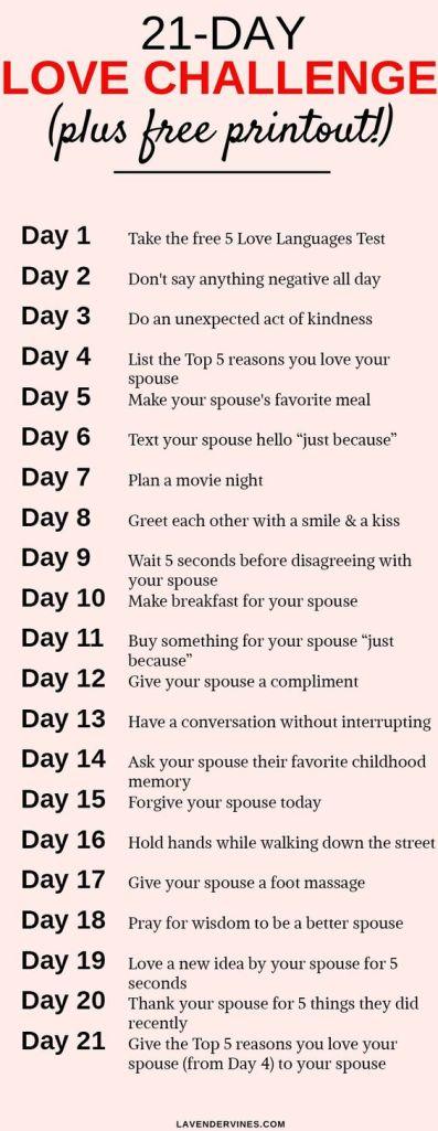 21-Day Love Challenge